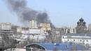 Иваново. Первые секунды пожара на ж/д станции (издалека)