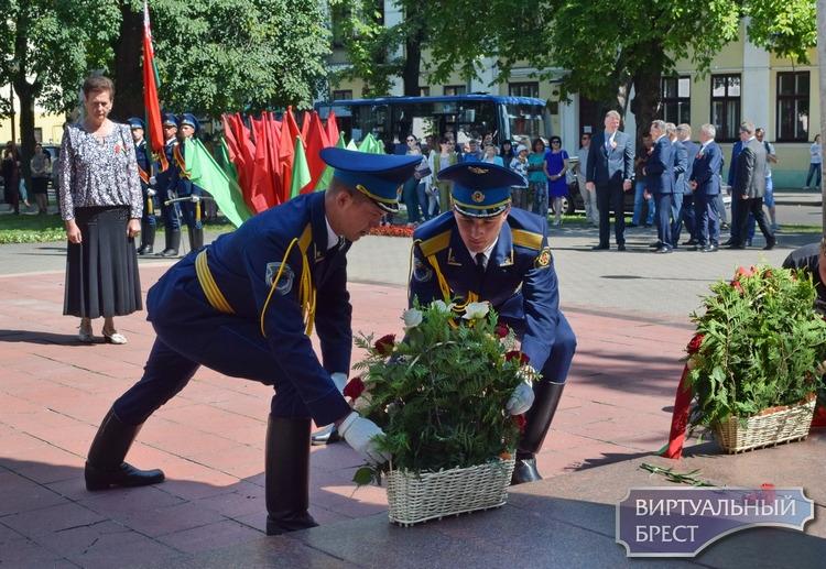 В Бресте отметили 76-годовщину освобождения от немецко-фашистских захватчиков