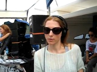 Ellen Allien @ BPitch Control Boat Party 2010