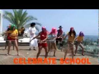 Клубный танец. веселая команда отеля Miraluna (Греция,о.Родос)