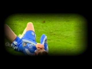 Daniel Agger punches Fernando Torres