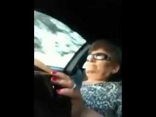 Армянская бабуля в Ferrari