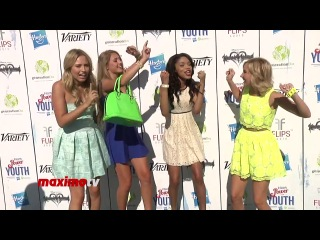 Gracie Dzienny Lia Marie Johnson Teala Dunn Audrey Whitby at 7th Annual Power of Youth