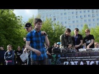 Miki DepreSSia vs ДжаФри Фристайл ЕЖЕГОДНЫЙ FESTIVAL ZNAКИ 06 06 13г ТЕАТР ГЛОБ