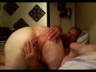 Fat old blonde amateur granny spreads her plump pussy wide an gets nailed by hubby - free porn   sex video - chubby, big tits, b