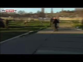 Захват украинской базы в Крыму