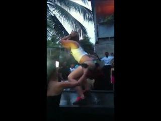 Menores en narco club lagoon