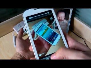копия Samsung Galaxy S III модель I9300 MTK6575 1Ггц 4 8 Android 4 0 3 камера 8мп