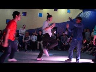 DA FUNKY ANNIVERSARY 12  hip-hop 1/2 Fistalika & Alim vs Danza & Microman