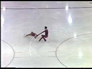 Lisa Cushley Neil Cushley GBR Figure Skating Pairs SP