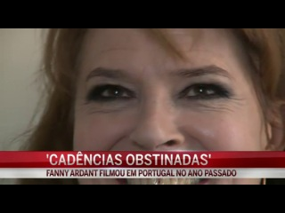 Fanny Ardant - Cadências Obstinadas (30 марта 2014)