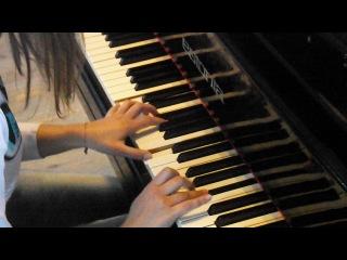 Я играю на фортепиано Титаник снимала меня моя любимка Анютка