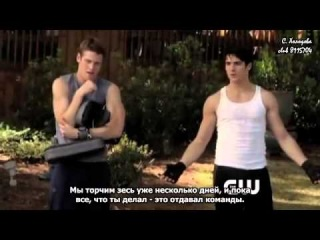The Vampire Diaries 4x10 After School Special Clip (RUS Subs)