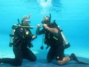 Scuba Diving Skill Demonstration criteria to become PADI Instructor in Thailand with Alain Barrat