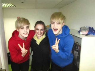 Jedward interview with Marcella Connolly for Mar's Bizarre Show