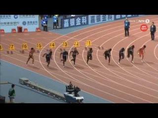 Justin Gatlin 9 94 Men's 100m IAAF Diamond League Shanghai 2016