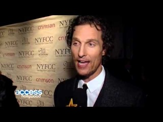 Matthew McConaughey Dishes On New Baby Son & Dramatic Weight Loss