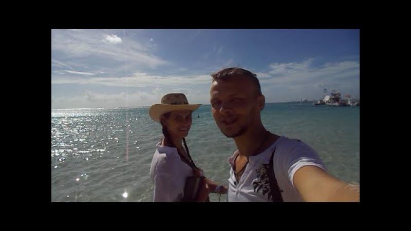 Прогулка по Бока-Чика (Boca Chica. Dominican Republic)