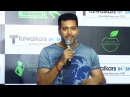Jayam Ravi Actor Speaks About Talwalkars Inshape Gym Inauguration At TNagar TOC