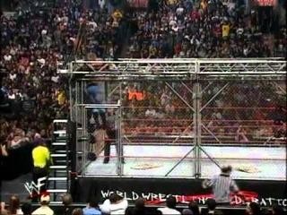 WWF/WWE Unforgiven 2000 - The Hardy Boyz Vs. Edge & Christian Steel Cage Match Part 2