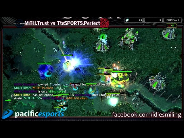 DotAHL 248 MiTH.Trust vs TteSPORTS.Perfect