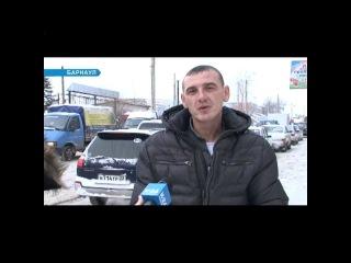 Барнаул. Ноябрь 2012. Снег, сугробы, коллапс