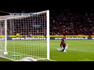 Чемпионат Италии. Интер - Милан. 4-2 Гол Майкона