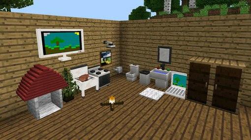 мод на мебель в майнкрафт 0.14.1 #2