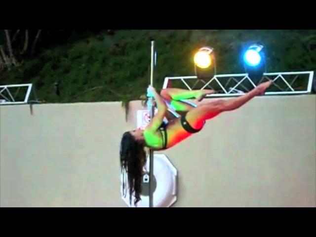 Zoraya Judd Rock the Pole