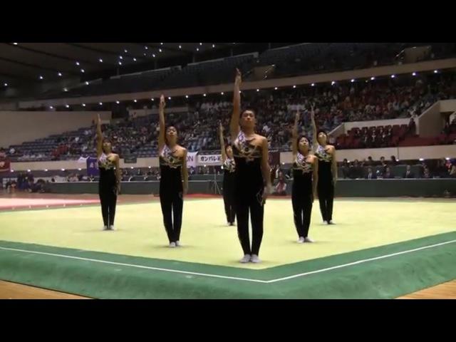 [Cool Japan]Super Synchronized Performance of Japanese High-School Boys! (Team Ibara)