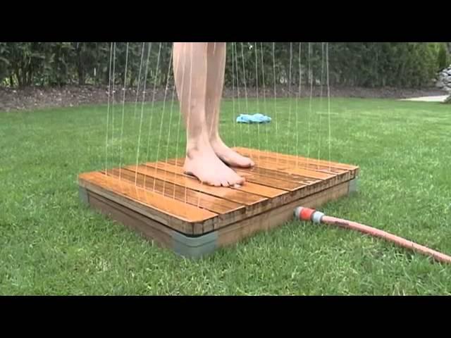 Die einzigartige Gartendusche