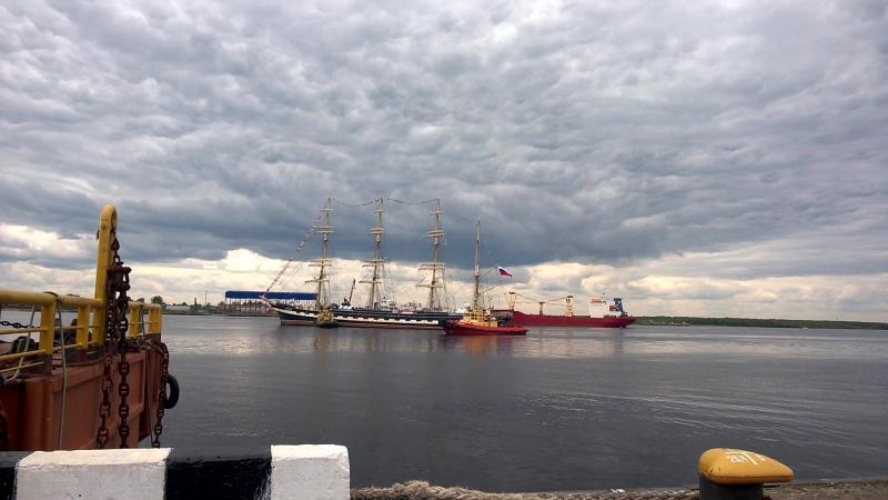 Крузенштерн в Архангельске