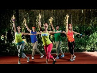 Танцевальная разминка с пластичными девочками