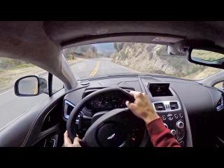 2015 Aston Martin V12 Vanquish - WR TV POV Canyon Drive