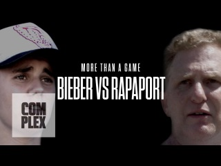 Bieber vs. Rapaport: More Than A Game