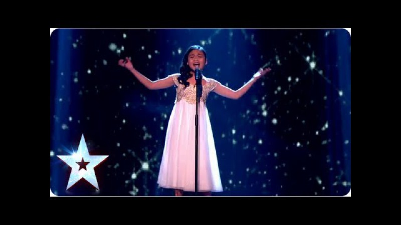 Arisxandra Libantino singing 'The Voice Within' Final 2013 Britain's Got Talent 2013