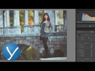 Уроки Lightroom - Модное тонирование фотографии