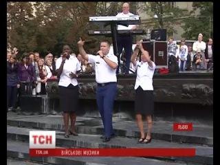 У Львові виступив вокально-інструментальний гурт Командування Сухопутних військ США у Європі