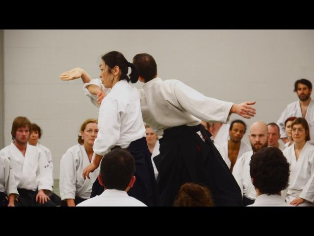 Aikido OKAMOTO Yoko Sensei Berlin 2015  Part 1
