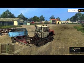 Первые заботы - ч1 Farming Simulator 15 прохождение карта Полевое