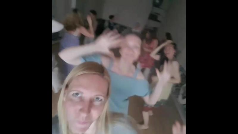 Видео-селфи с наших танцев 14 июля