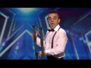 America's Got Talent 2015 S10E04 Uzeyer Novruzov Channels a Charlie Chaplin Silent Movie