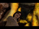 Silent Hill 2 Cutscene - Angela, Flaming Staircase