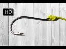 Узел Клинч усовершенствованный Improved clinch knot HD