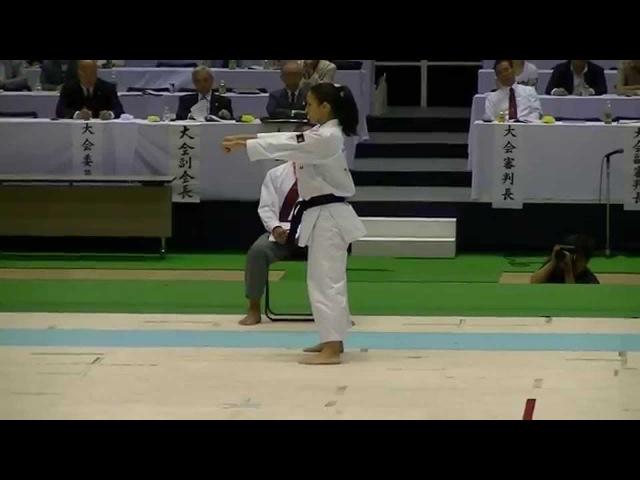 2014 JKA All Japan Gojushihosho by Miki Nakamachi 中町美希選手 五十四歩小