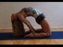 Yoga Power Backbends Laghuvajrasana with Kino