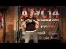 Austrian YoYo Contest 2014 X-div Open 2nd - David Molnar