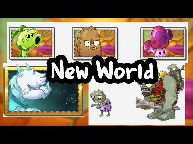 Plants vs Zombies 2 10th World Jurrasic Marsh Revealed New Plants Zombies