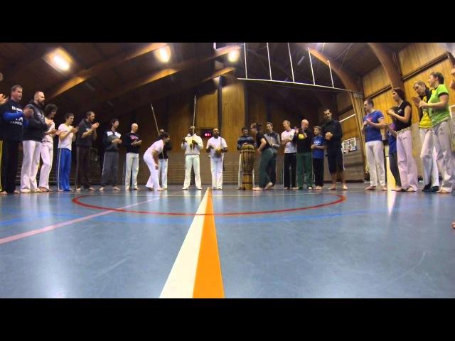 XVIII Iê Berimbau Capoeira Festival Diest Belgium Roda aberta part 1