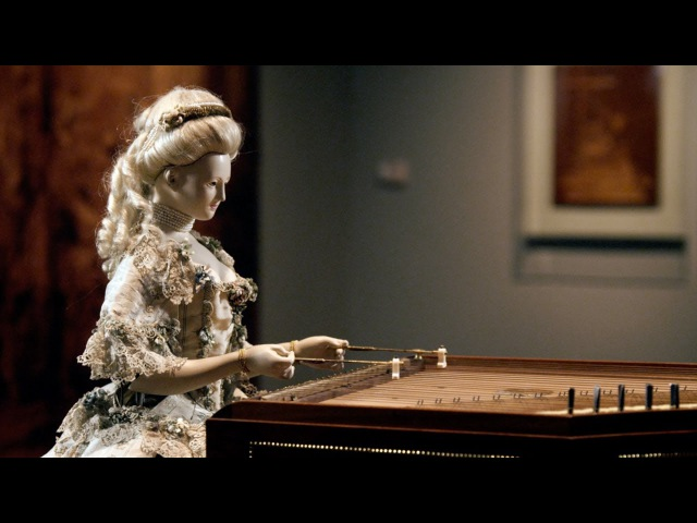 Demonstration of David Roentgen's Automaton of Queen Marie Antoinette The Dulcimer Player